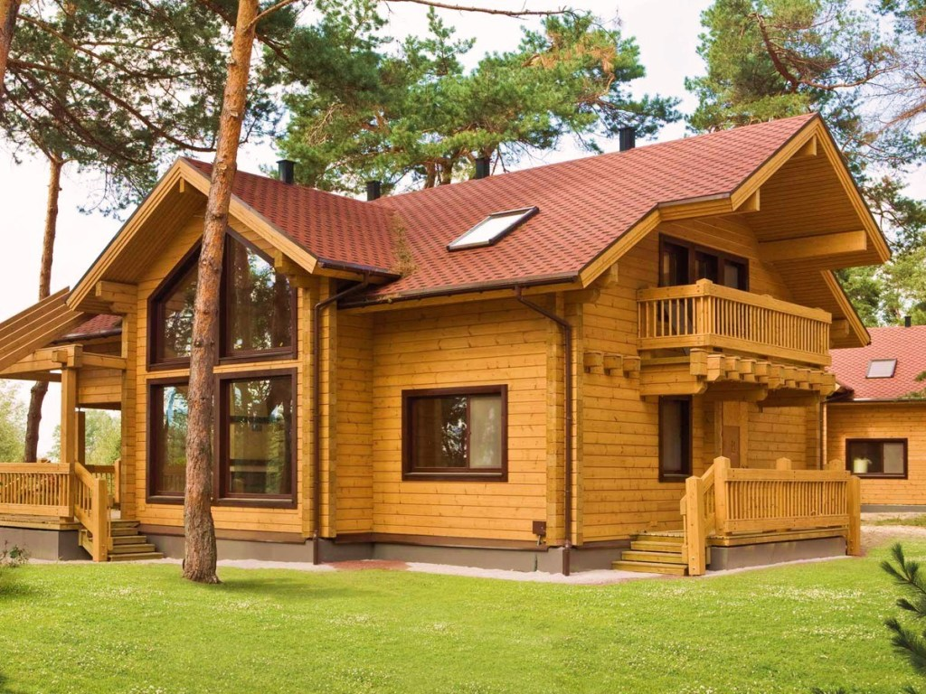 Строительство деревянных домов картинки