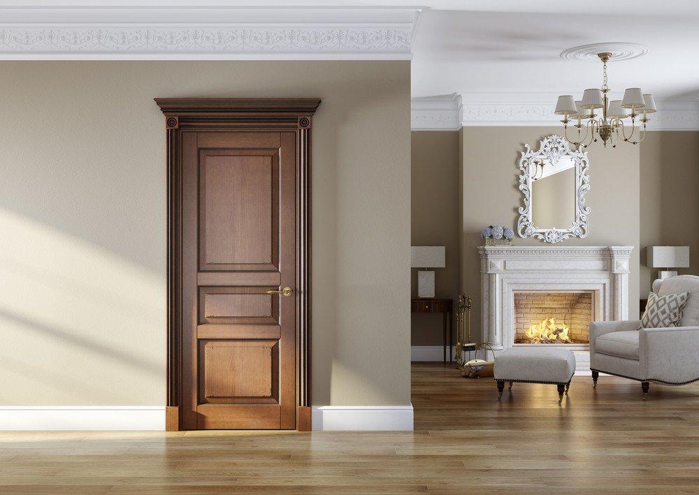 разновидность дизайна двери