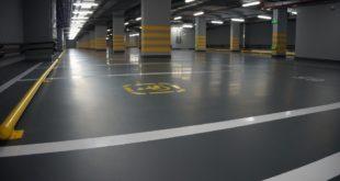 Полимерные наливные полы для паркинга