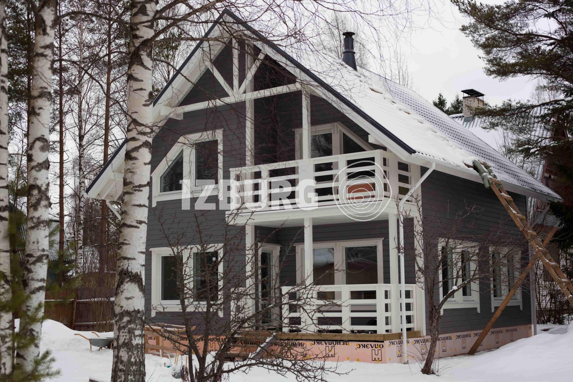 дом построенный по индивидуальному проекту